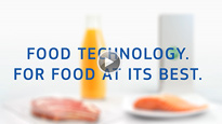 FOOD TECHNOLOGY. FOR FOOD AT ITS BEST.